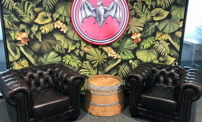 Bacardi Office Entrance Interior Design